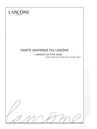 charte graphique lancome1